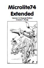 Microlite74 Extended 3.0 Special Edition Cover Volume 1